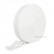 Трикотажный манжет для одноразовых медицинских халатов (тонкий) (рулон)